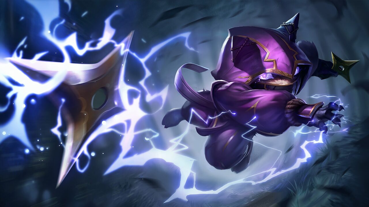Kennen Splash Art