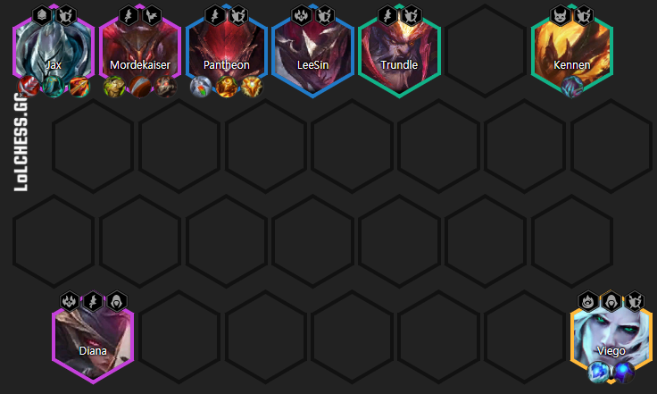 6 Skirmisher Jax Late Game